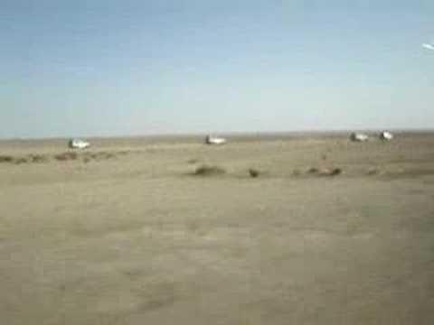 Ruta en 4x4 (Tunez) por el desierto video 02