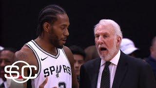 Adrian Wojnarowski breaks down tension between Kawhi Leonard's camp and Spurs | SportsCenter | ESPN