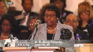 "Remembering B.B. King - Funeral Services for Riley ""B.B."" King 