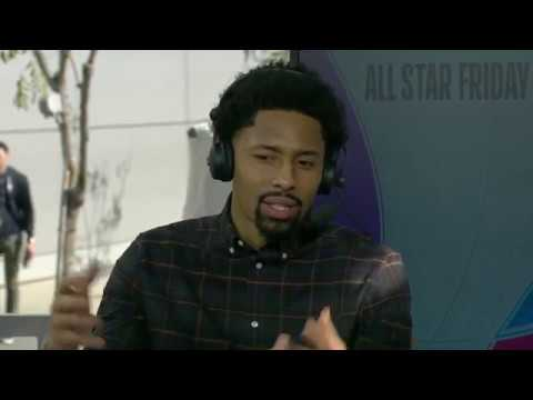 Spencer Dinwiddie joins NBA TV at NBA All Star