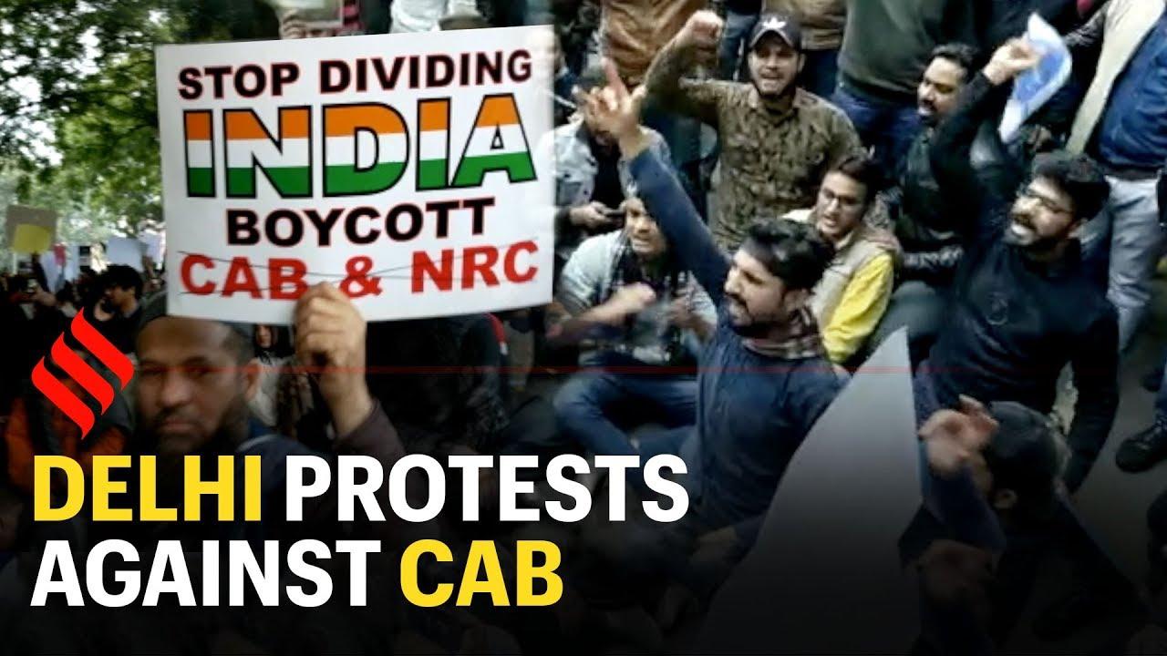 Protests In Delhi Against CAB-Telugu Breaking News Roundup-12/15