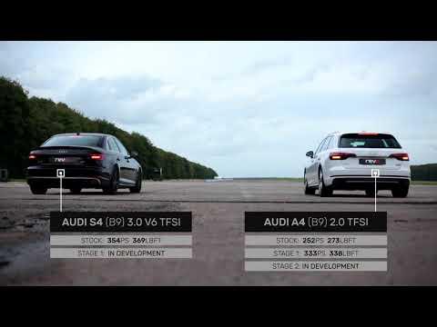 Between Two Cars: Audi A4 2.0TFSI vs Audi S4 V6 3.0TFSI // Revo