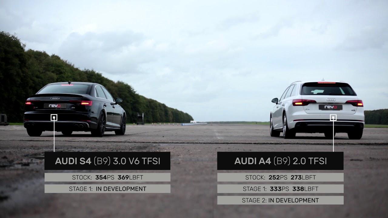Between Two Cars: Audi A4 2 0TFSI vs Audi S4 V6 3 0TFSI // Revo