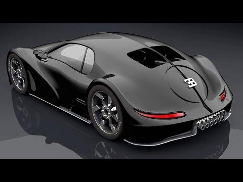 Bugatti : All Concept Cars 2017