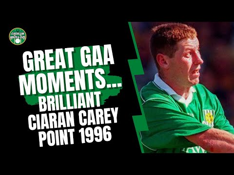 Great GAA Moments  Brilliant Ciaran Carey Limerick Point v Clare 1996