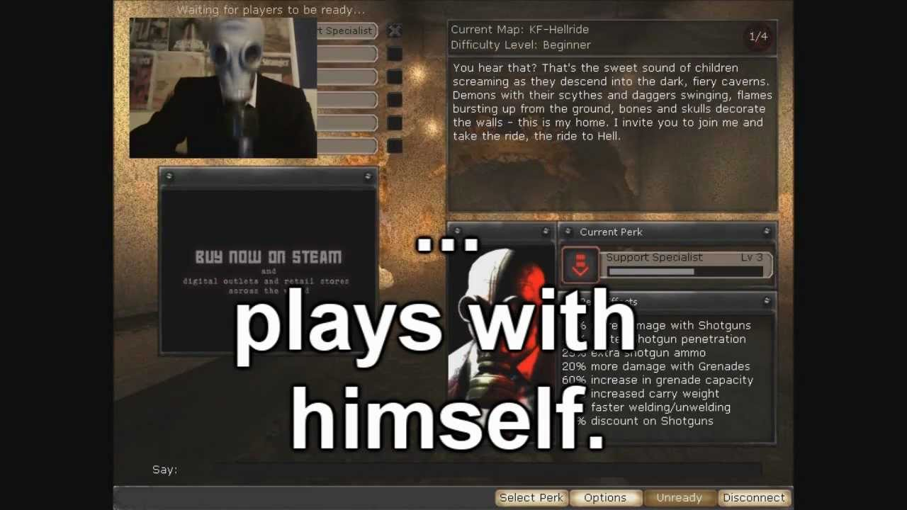 Killing floor mr foster plays with himself in hellride for Floor 2 swordburst 2