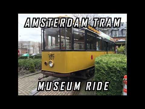 Amsterdam Tram Museum Ride