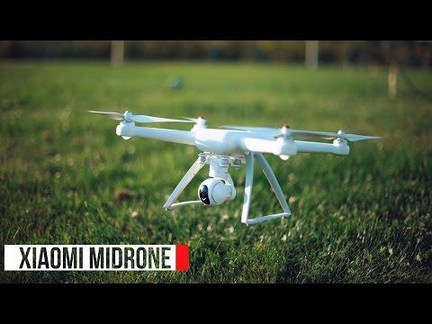 Квадрокоптер с камерой Xiaomi MiDrone. Полный обзор дрона, снятый с другого дрона! (mobitron.kz)