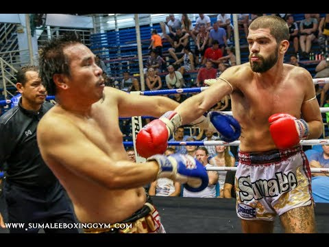 Michalis Manoli Sumalee wins by KNOCKOUT! Bangla Boxing Stadium, 10th November 2017