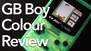 Kong Feng GB Boy Colour (Game Boy Color Clone) Review!
