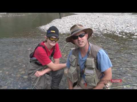 RAM RIVER FLY FISHING VIDEO