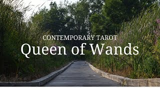 Queen of Wands Upright: Someone who fully appreciates life. A perso...