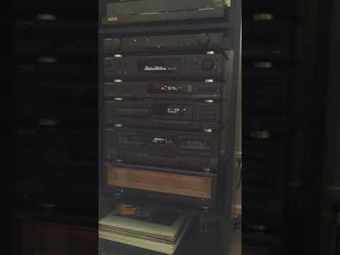 Vintage Technics Home Audio System