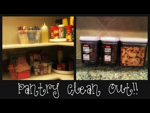 Operation DECLUTTER    Pantry Mess!!