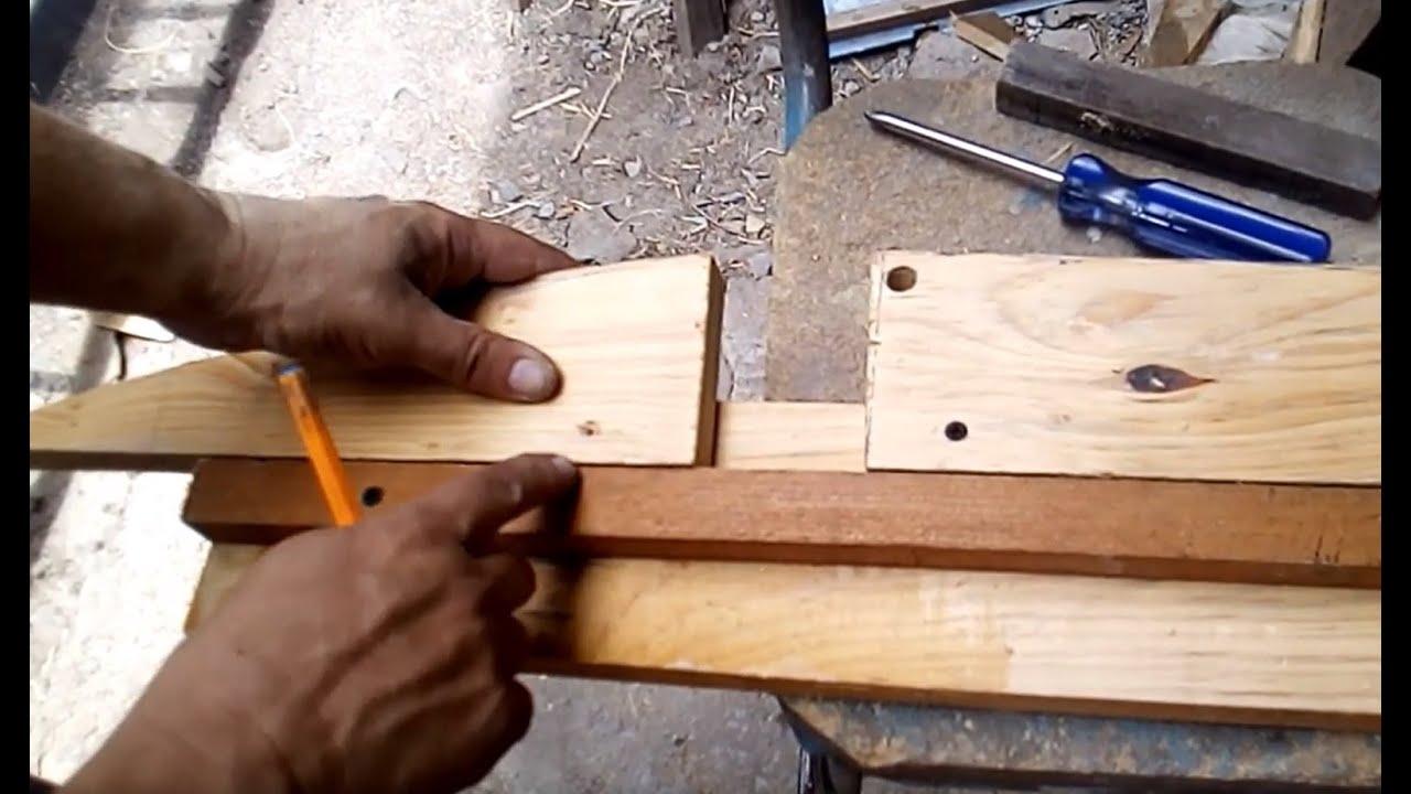 Bóveda Catalana/Como hacer cerchas o cimbra