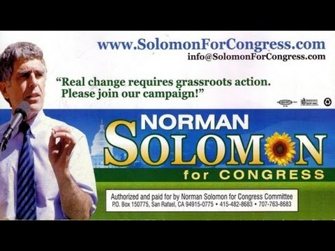 Norman Solomon on Why Fight for a Seat in Congress