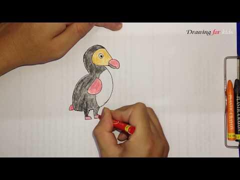 How To Draw Dodo From Disney