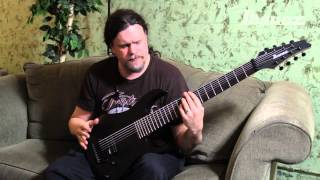 marten hagstrom on the meshuggah m80m ibanez 8 string signature model