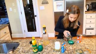 Reaction Citric Acid with Baking Soda