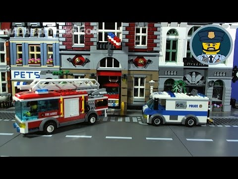 LEGO CITY POLICE Money Transport Mini Movie Part 1