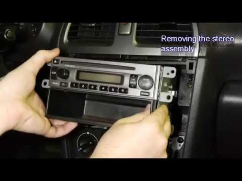 Installing New Car Stereo in Subaru Impreza - YouTube