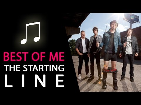 The Starting Line   The Best Of Me Instrumental