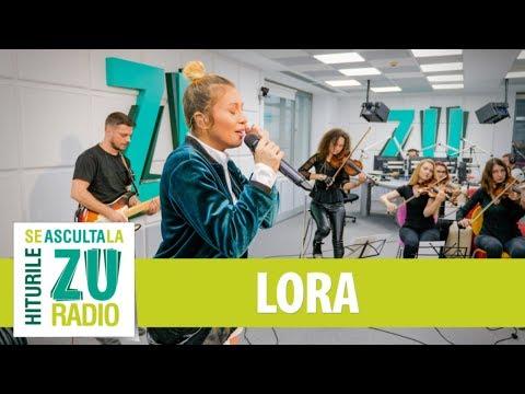 Lora - Rămas bun (Live la Radio ZU)