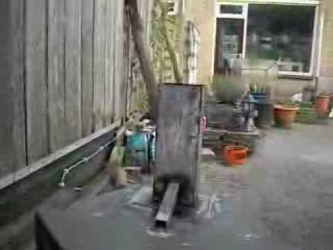 Convert A Wood Stove To Rocket Wood Stove Youtube
