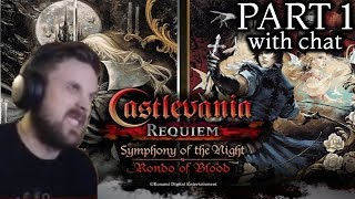 Forsen Plays Castlevania Symphony of the Night - Part 1 (with chat)