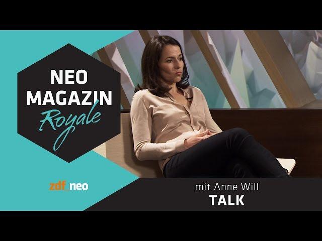 Talk mit Anne Will | NEO MAGAZIN ROYALE mit Jan Böhmermann - ZDFneo
