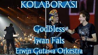 MAHAKARYA :  KOLABORASI GODBLESS, IWAN FALS, ERWIN GUTAWA ORKESTRA