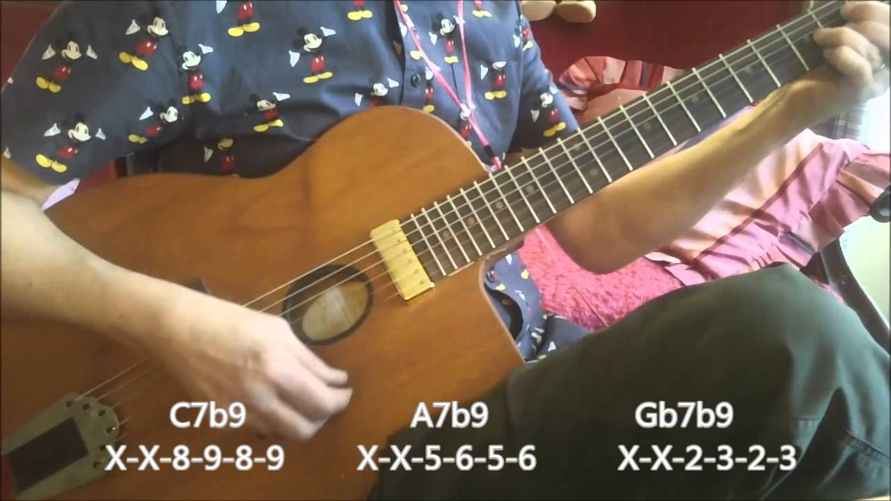 les yeux noirs dark eyes chord melody electric gypsy jazz guitar youtube. Black Bedroom Furniture Sets. Home Design Ideas