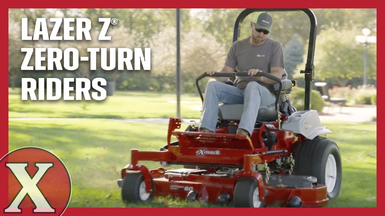 Watch the 2018 Exmark Lazer Z Mowers in Action