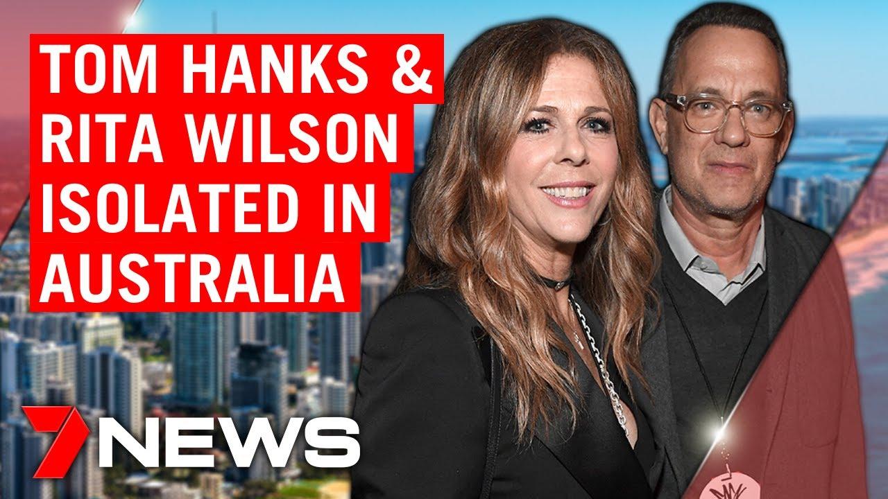 Tom Hanks & Rita Wilson test positive to coronavirus in Australia | 7NEWS