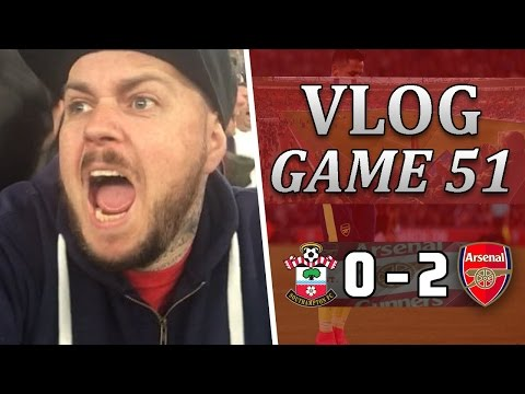 Southampton 0 v 2 Arsenal | Superb Second-Half Performance | Matchday Vlog | Game 51