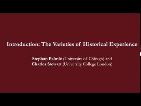 """Stephan Palmié and Charles Stewart, """"Introduction: The Varieties of Historical Experience"""""""