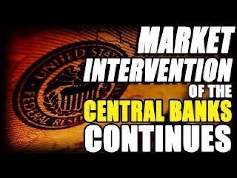 ERIC SPROTT market intervention of the Central Bank continues