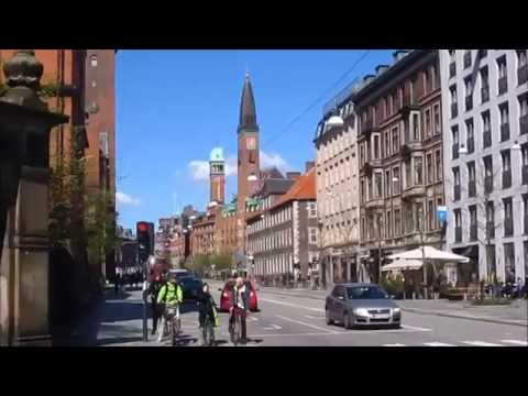 Streets in Copenhagen - Denmark