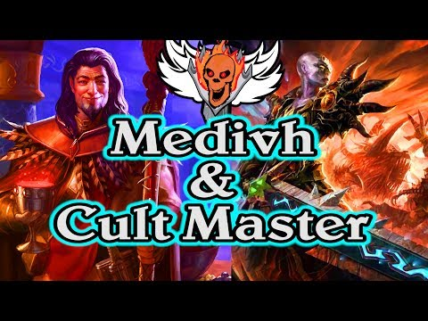 Medivh & Cult Master FTW  🍀🎲 ~ Journey to Un'Goro ~ Hearthstone Heroes of Warcraft