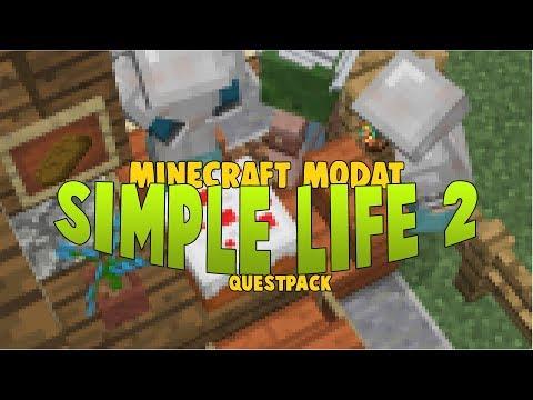 SimpleLife 2 - ep10 - RESTAURANTUL ORASULUI | Minecraft Modat