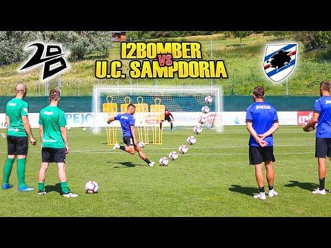 I2BOMBER VS SAMPDORIA  - Free Kick CHALLENGE | Caprari Capezzi Ramirez