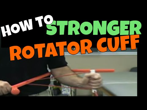 Rotator Cuff Strengthening Exercises With The Rotater
