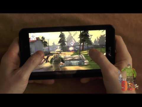 Asus FonePad 7 FE170CG: обзор в крутых 3D играх(Atom Z2520)