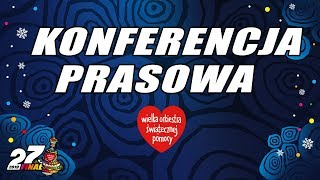 Jurek Owsiak po 27. Finale WOŚP - konferencja prasowa