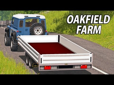 NEW TRAILER FOR OUR LAND ROVER | Farming Simulator 17 | Oakf