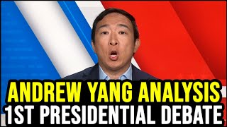 Andrew Yang Reacts to the 1st Presidential Debate