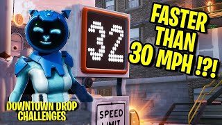 Downtown Drop - GO Faster than 30 through Both Speed Traps - Challenges Fortnite