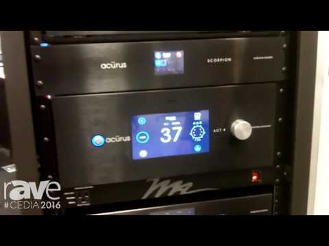 CEDIA 2016: Acurus Highlights ACT 4 Processor with Dolby Atmos and DTSX