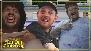 Benny Kickstarts Matty Matheson's Rap Career On The Cave   Matty and Benny Eat Out America   EP 1