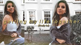 Getting Back On Track  (easy self care tips)  +  HOMEWARE HAUL